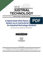 Hybrid Solar-Wind Power Generation System