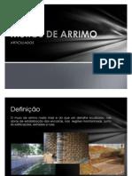 MUROS DE ARRIMO