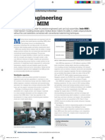 Value engineering through MIM > Medical Device Developments