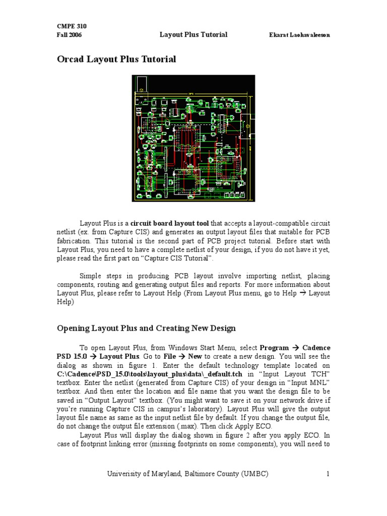 Orcad Layout Plus Tutorial Printed Circuit Board Digital Technology Gerber Files For Your Design Online So Simple