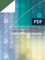 Tony Mendel - Liberdade de Informação um estudo de direito comparado