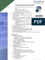 Especificaciones y Caracteristicas de la Impresora SP35 PLUS