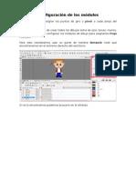 Configuración de los módulos y clavijas