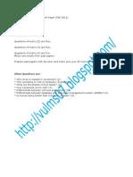 CS101 VU Final Term Current Paper (Feb 2011)