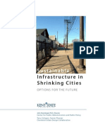 Sustainable Infrastructure in Shrinking Cities