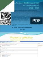 Movimientos Sociales Contemporaneos en CA 1900-2010