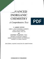Cotton-Wilkinson - Advanced Inorganic Chemistry