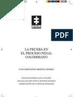La prueba en el proceso penal colombiano