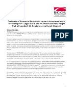 St. Louis RCGA Aerotropolis Economic Impact Estimate