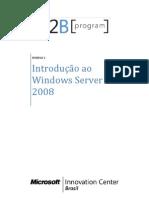 MODULO 1 - Introdução ao Windows Server 2008