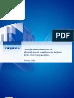 Estudio Mujeres Dirigentes en Empresas Españolas 2011