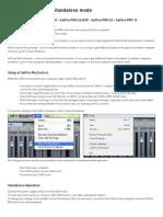 User Guide Saffire PRO Standalone