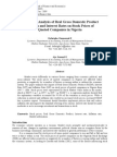 An Impact Analysis of Real GDP Inflarion and Interest Rates on Stock Prices of Quoted Companies in Nigeria