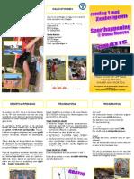Folder Sport Happening 2011