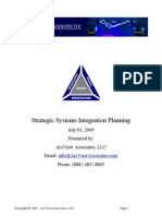 Strategic Systems Integration Planning 070209
