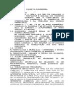 Parasitologia Humana - Conceitos Chaves