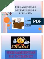 Herramientas de Internet Para La Educacion