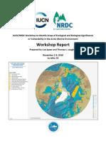 Vulnerable Arctic Ocean sites