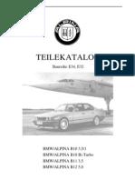 Biturbo Parts Catalog