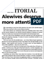 Alewife Editorial