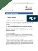 Ed Parvularia El Chile,Aspectos Legislativos