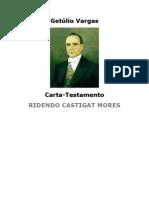 Carta Testamento - Getúlio Vargas