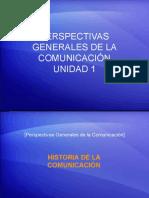 Perspectivas Generales de la Comunicación