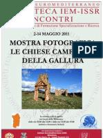 Locandina Mostra Chiese Campestri 2