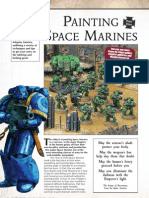 Painting Space Marines Part 1