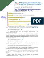Art 153, 155 e 156 CF - Impostos Nominados