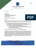 Actuary Analysis of 2011 Legislation