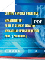 CPG Management of Acute ST Segment Elevation Myocardial Infarction (2nd Edition)