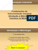 Metrologia Incerteza
