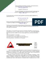 CALCULOS DE PENDIENTES