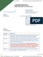 DODGE v. ACE USA/ESIS, INC. Docket