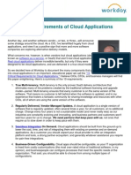 10 Critical Requirements of Cloud Applications