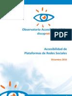 Observatorio Accesibilidad Redes Sociales