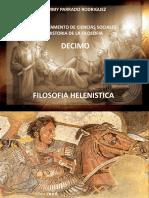 filosofia helenistica- Historia de la filosofía Décimo San Martín de los Llanos Meta