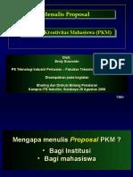 Its Menulis Proposal Pkm