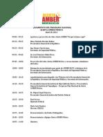 Programa Lanzamiento Alerta Amber Mexico