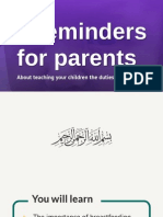 4 Quick Reminders for Parents