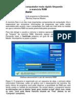 LIMPAR MEMÓRIA RAM DO PC