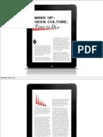 Modern Geek Test iPad Keynote