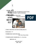 Informe Final de Participacion Estudiantil8