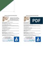 BF support group leaflet