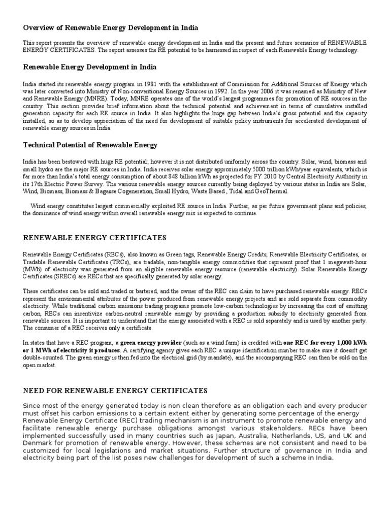 Overview of renewable energy development in india by tanay joshi overview of renewable energy development in india by tanay joshi 08bee153 sustainable energy renewable resources xflitez Gallery