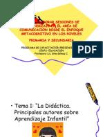 Didactica de La Escritura Para El Nivel Primaria
