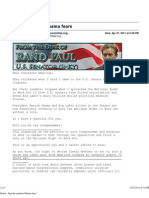 Rand Paul and his anti-union email