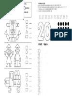 Figura Geometric A e Numero 20