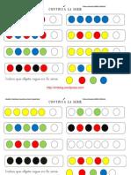 Continua La Serie Con Formas y Colores Fichas 1 10